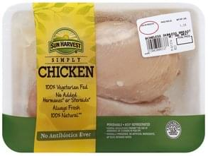 Sun Harvest Chicken Breast, Boneless, Skinless, with Rib Meat
