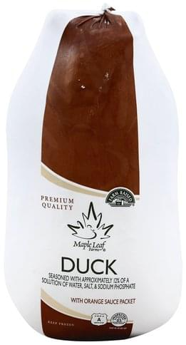 Maple Leaf Farms with Orange Sauce Packet Duck - 1 ea