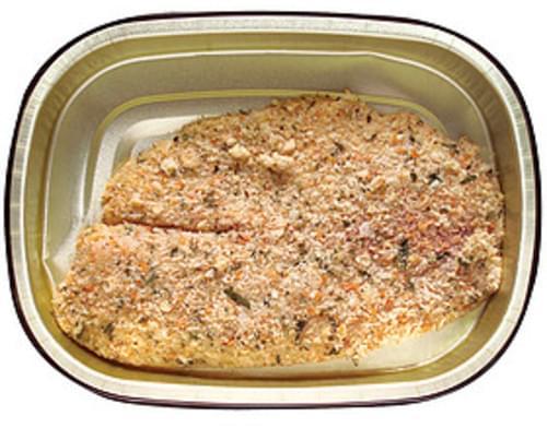 Wegmans Herb Crusted Tilapia Tilapia - 5 oz