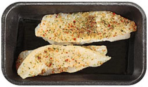 Trident Seafoods Tilapia Fillets Mediterranean Seasoned