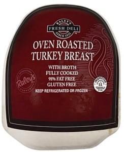Raleys Turkey Breast Oven Roasted