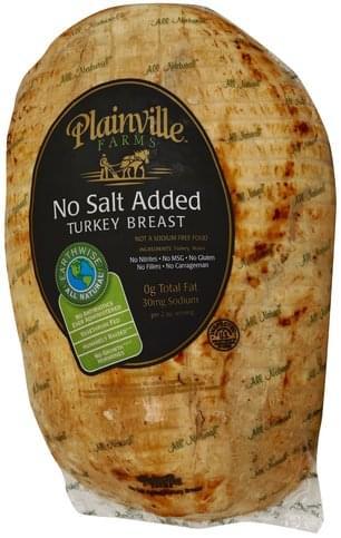 Plainville Farms No Salt Added Turkey Breast - 1 ea