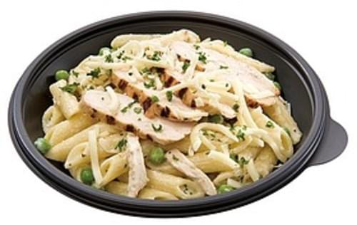 Wegmans Penne Alfredo With Chicken Peas Pasta Bowl Pasta