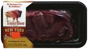 TenderBison Steak New York Strip