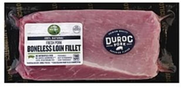 Open Nature Pork Loin Fillet, Boneless