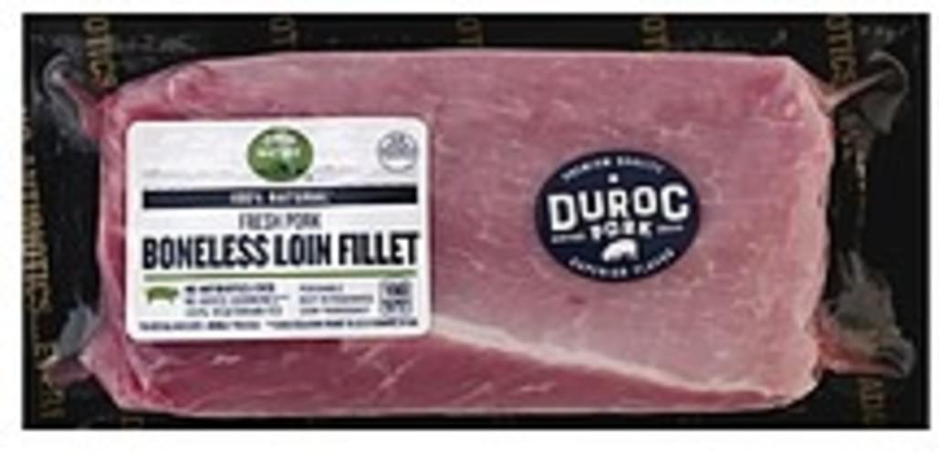 Open Nature Loin Fillet, Boneless Pork - 1 ea