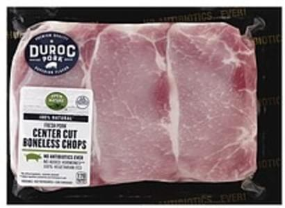 Open Nature Pork Center Cut Chops, Boneless