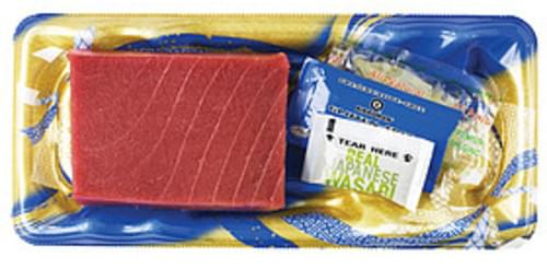 Wegmans Ahi Tuna Sashimi Style Asian Food - 6 oz