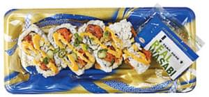 Wegmans Asian Food Spicy Tuna Roll with Brown Rice