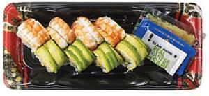 Wegmans Asian Food Caterpillar Roll