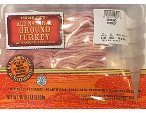 Trader Joe's Ground Turkey - 112 g