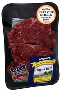 Wegmans Beef Tenderloin Steak Angus Beef, Tenderloin Steak