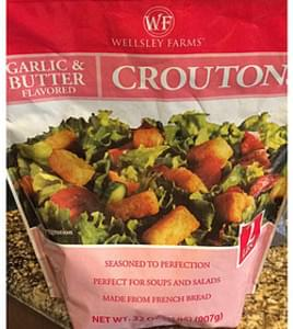Wellsley Farms Garlic & Butter Flavored Croutons