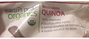 Earth's Pride Organics Whole Grain Quinoa