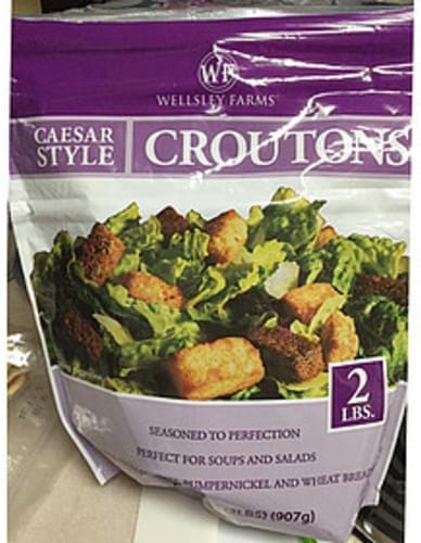 Wellsley Farms Caesar Style Croutons - 7 g