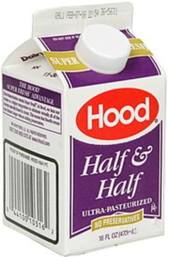 Hood Half & Half - 16 oz