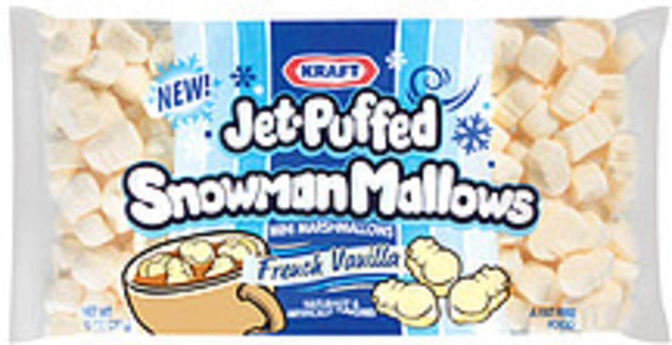 Chinet Snowman Mallows Mini French Vanilla + Display Marshmallows - 10 oz