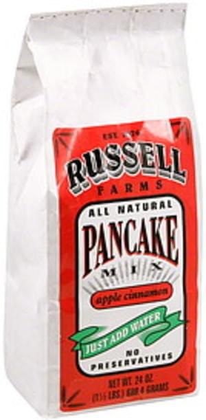 Russell Farms Apple Cinnamon Pancake Mix - 24 oz