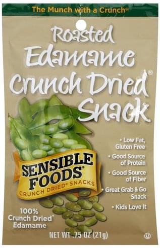 Sensible Foods Roasted Edamame Crunch Dried Snacks - 0.75 oz