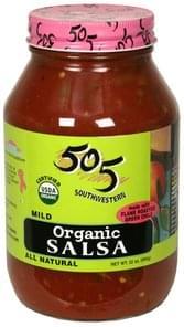 505 Southwestern Organic Salsa Mild