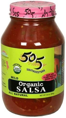 505 Southwestern Mild Organic Salsa - 32 oz