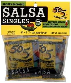 505 Southwestern Salsa Medium, Singles
