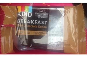 Kind Breakfast Dark Chocolate Cocoa
