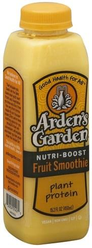 Ardens Garden Nutri-Boost, Plant Protein Fruit Smoothie - 15.2 oz