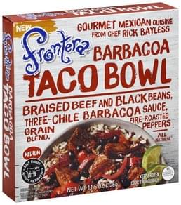 Frontera Taco Bowl Barbacoa, Medium