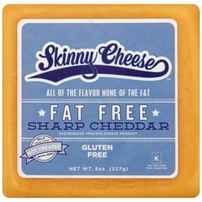 Skinny Cheese Cheese Fat Free, Sharp Cheddar