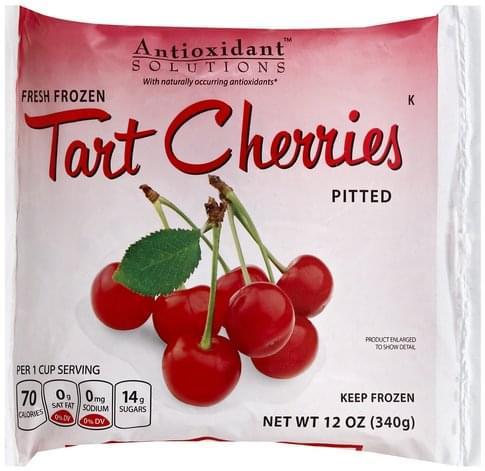 Antioxidant Solutions Tart, Pitted Cherries - 12 oz