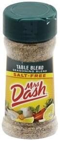 Mrs Dash Seasoning Blend Salt-Free, Table Blend