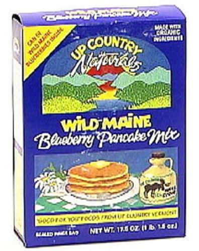 Up Country Wild Maine Blueberry Pancake Mix - 17.5 oz