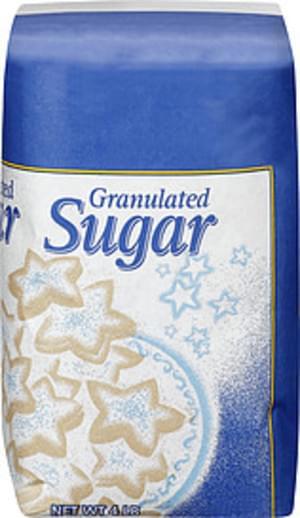 Great Value Granulated Sugar - 4 lb