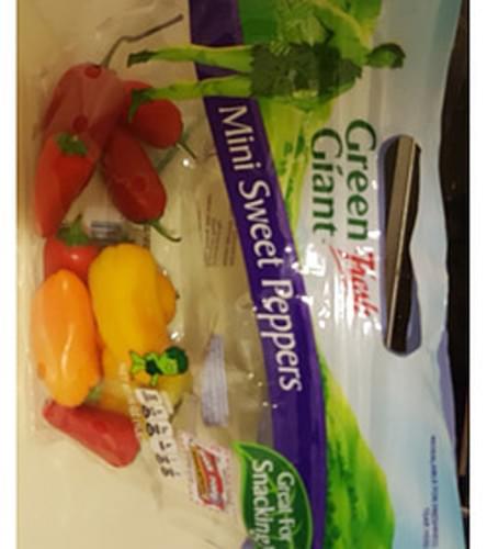 Green Giant Fresh Mini Sweet Peppers - 99 g