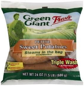 Green Giant Sweet Potatoes Petite