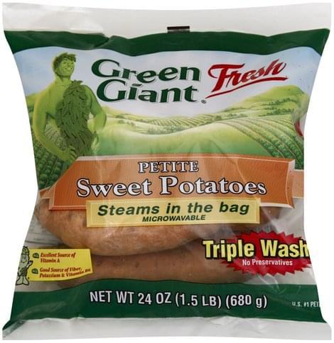 Green Giant Petite Sweet Potatoes - 24 oz