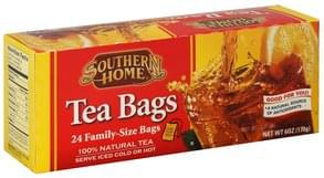 Southern Home Tea Bags Family-Size Bags