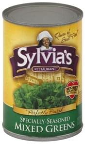 Sylvias Mixed Greens Specially-Seasoned