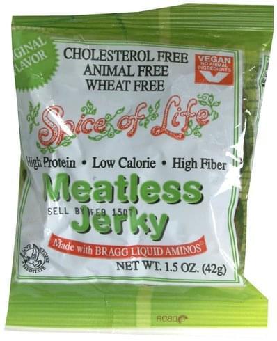 Spice of Life Original Flavor Meatless Jerky - 1.5 oz