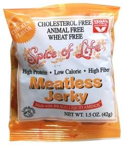 Spice of Life Meatless Jerky Spicy Chicken Flavor