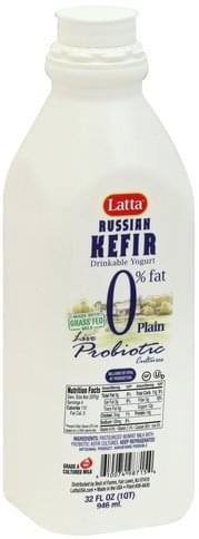 Latta Russian, Plain Kefir - 32 oz