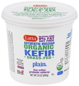 Latta Kefir Organic, Plain