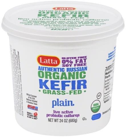 Latta Organic, Plain Kefir - 24 oz