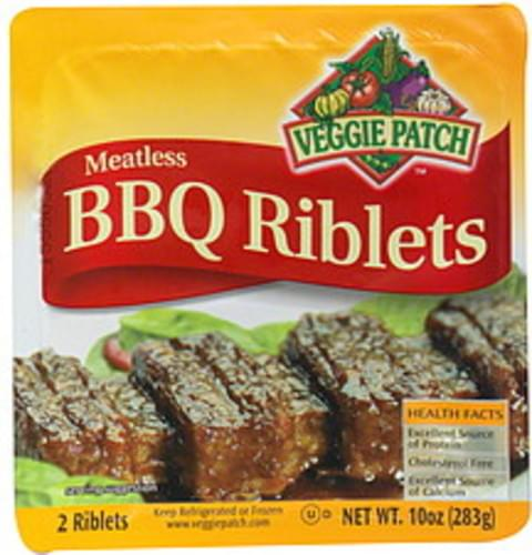 Veggie Patch Texas Style Meatless BBQ Riblets - 2 ea