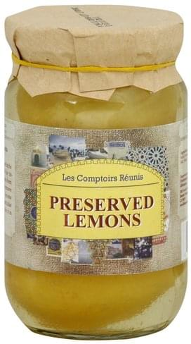 Les Comptoirs Reunis Preserved Lemons - 7.05 oz