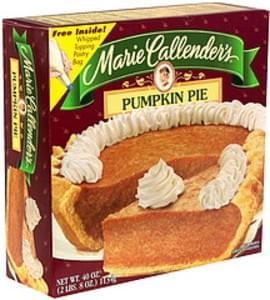 Marie Callenders Pumpkin Pie