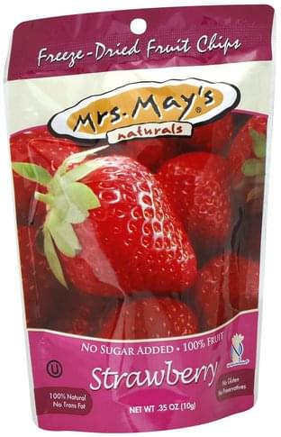 Mrs Mays Freeze-Dried, Strawberry Fruit Chips - 0.35 oz