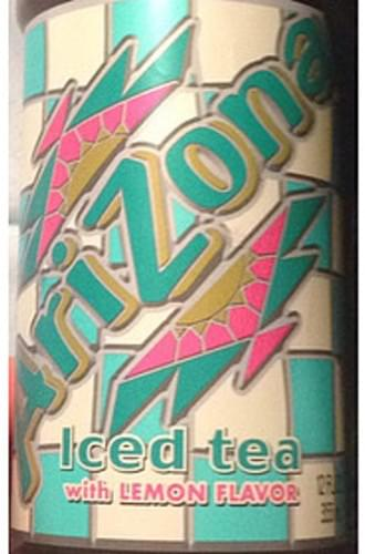 Arizona Iced Tea with Lemon Flavor
