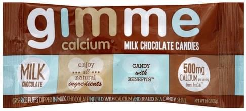 Gimme Milk Chocolate Candies - 1 oz